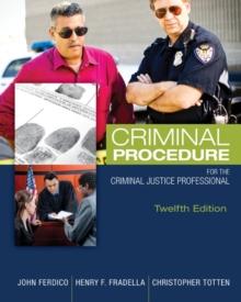 Image for Criminal Procedure for the Criminal Justice Professional