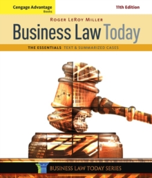 Image for Business law today  : the essentials