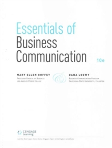 Image for Essentials of business communication