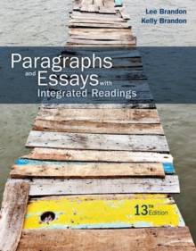 Image for Paragraphs and essays  : with integrated readings