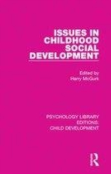 Image for Issues in childhood social development