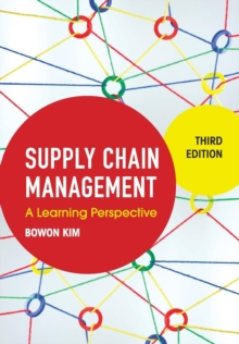 Image for Supply chain management  : a learning perspective