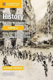 Image for History for the IB diplomaPaper 3,: Italy (1815-1871) and Germany (1815-1890)