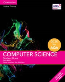 Image for GCSE computer science for AQA: Student book