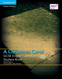 Image for GCSE English literature for AQA A Christmas carol: Student book