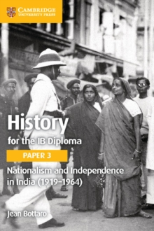 Image for History for the IB DiplomaPaper 3,: Nationalism and independence in India (1919-1964)