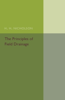 Image for The principles of field drainage