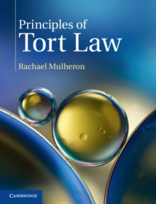 Image for Principles of tort law