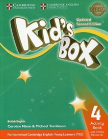 Image for Kid's boxLevel 4: Activity book with online resources