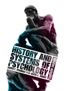 Image for History and systems of psychology