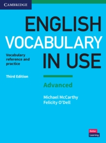 English vocabulary in use  : vocabulary reference and practiceAdvanced,: With answers - McCarthy, Michael
