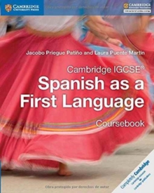 Image for Cambridge IGCSE (R) Spanish as a First Language Coursebook