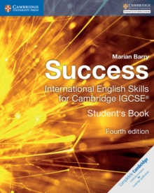 Image for Success international  : English skills for Cambridge IGCSE: Student's book