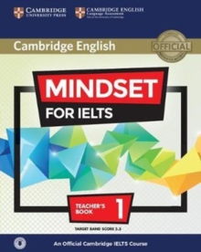 Image for Mindset for IELTS  : an official Cambridge IELTS courseLevel 1,: Teacher's book