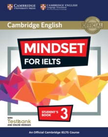 Mindset for IELTS  : an official Cambridge IELTS courseLevel 3,: Student's book - Archer, Greg