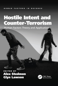 Image for Hostile intent and counter-terrorism: human factors theory and application