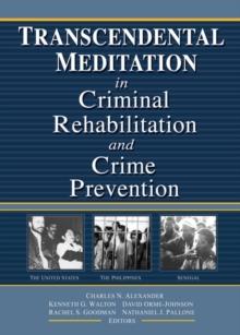 Image for Transcendental Meditation in criminal rehabilitation and crime prevention