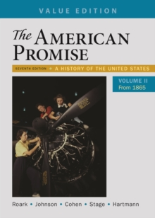 Image for AMERICAN PROMISE VALUE EDITION VOLUME 2