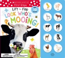 Image for Look Who's Mooing! Lift the Flap: Scholastic Early Learners (Sound Book)