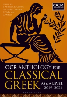 Image for OCR anthology for classical Greek AS and A Level  : 2019-21