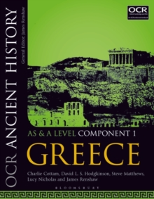 Image for OCR ancient history AS and A levelComponent 1,: Greece