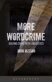 Image for More wordcrime  : solving crime with linguistics