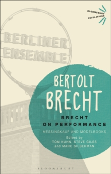 Image for Brecht on performance: Messingkauf and modelbooks