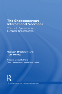 Image for The Shakespearean international yearbook.: (Special section, European Shakespeares)