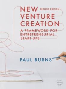 Image for New venture creation  : a framework for entrepreneurial start-ups
