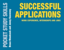 Image for Successful applications  : work experience, internships and jobs