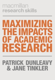 Image for Maximizing the Impacts of Academic Research