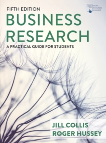 Image for Business research  : a practical guide for undergraduate & postgraduate students