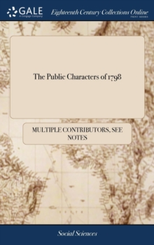Image for The Public Characters of 1798
