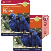 Image for Cambridge International AS & A Level complete biology: Enhanced online & print student book pack