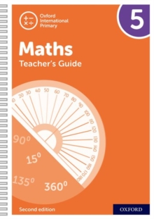 Image for Oxford international primary maths6,: Teacher's guide