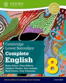 Image for Cambridge lower secondary complete English8,: Student book