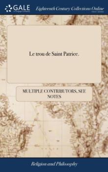 Image for Le Trou de Saint Patrice.