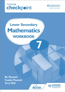 Image for Cambridge checkpoint lower secondary mathematics7,: Workbook