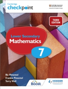 Image for Cambridge checkpoint lower secondary mathematics7,: Student's book