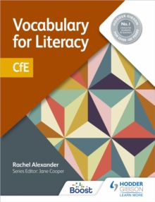 Image for Vocabulary for literacy  : CfE