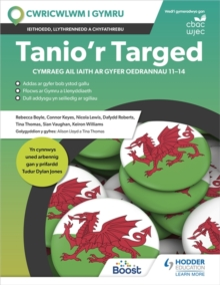 Image for Tanio'r targed  : Cymraeg ail iaith ar gyfer oedrannau 11-14