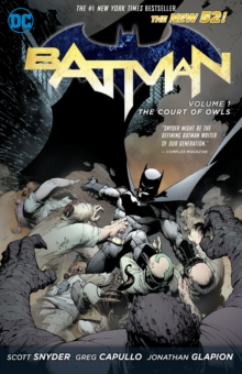 Batman Vol. 1 The Court Of Owls (The New 52)