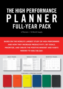 Image for High Performance Planner Full-Year Pack : 6 Planners = 12-Month Supply