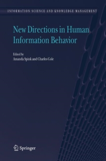 Image for New directions in human information behavior
