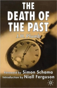 Image for The death of the past