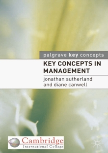 Image for Key concepts in management