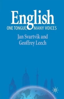 Image for English  : one tongue, many voices