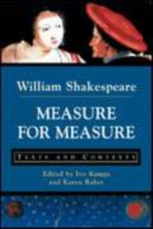 Image for Measure for measure  : texts and contexts