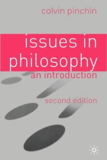 Image for Issues in philosophy  : an introduction