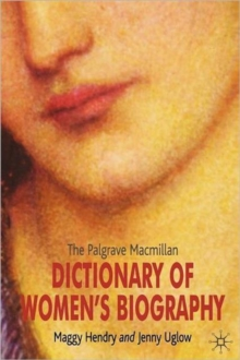Image for The Palgrave Macmillan dictionary of women's biography